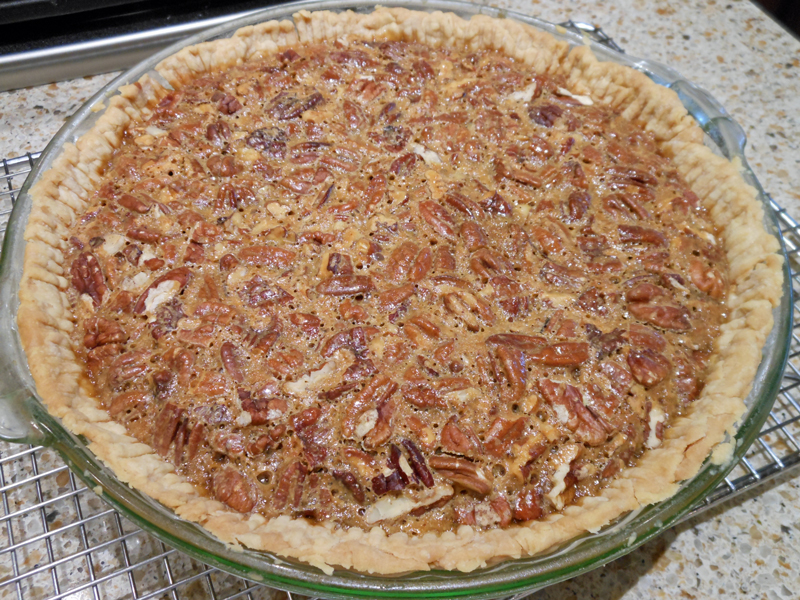 Old-Fashioned Pecan Pie (no corn syrup) | Dixie's Kitchen