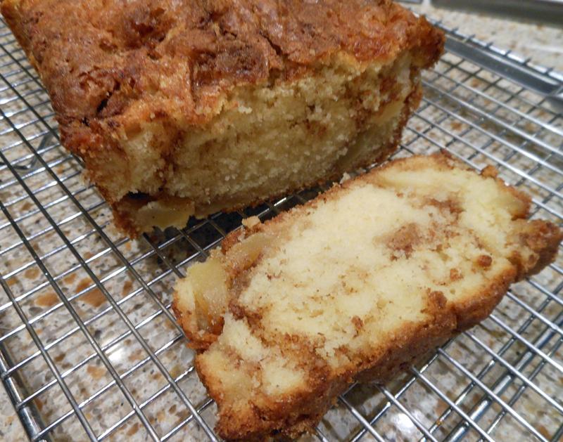 Art's Apple Cinnamon Bread